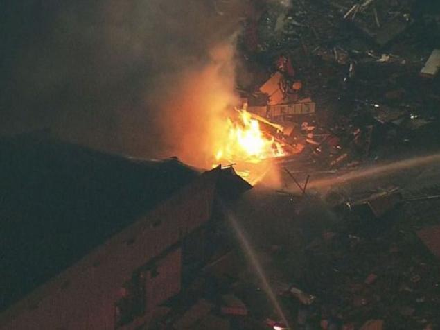 Gas Leak Explosion Destroys Motel 6 In Bremerton, Washington Injuring One