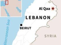 Multiple Suicide Attacks In Lebanese Village Near Syrian Border Kills 5