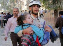 Barrel Bombing Kills Six Children In Aleppo
