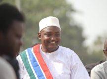 BREAKING: Adama Barrow Sworn In Gambia President At Embassy In Senegal