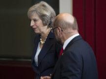 British PM Theresa May Phones EU Leaders Ahead Of Brexit Speech