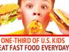 US Kids Eat Tons Of Fast Food: Study