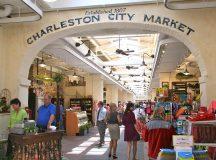 The Historic Charleston City Market in South Carolina