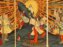 The Birth of Amaterasu Omikami in Shinto